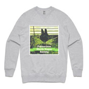 Palmerston North Vegan Society - Unisex Brush Crew Sweatshirt